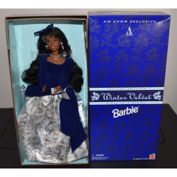 Barbie Avon Winter Velvet African American