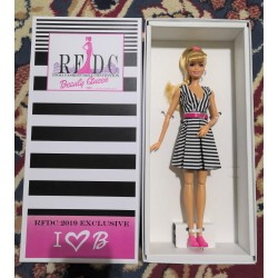 "Barbie RFDC 2019 Exclusive ""Beauty Queen"" 60th Anniversary - I Love B"