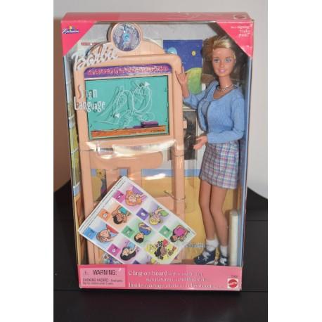 Barbie Sign Language