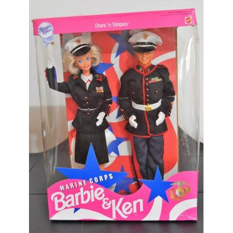 Barbie & Ken Marine Corps
