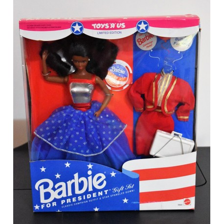 Barbie for President African American
