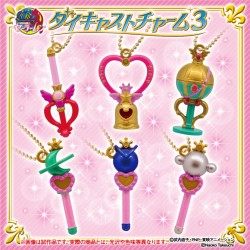 Sailor Moon Die-cast Charms Set 2