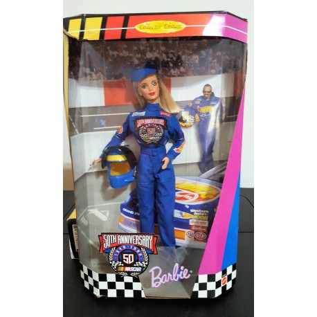Barbie Nascar 50th Anniversary
