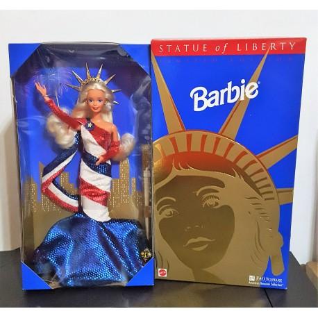 Barbie Statue of Liberty